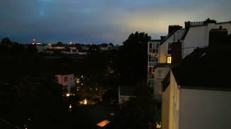 Nachtaufnahmen sind zu dunkel.