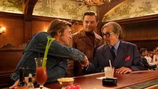 Cliff Booth begrüßt Mr. Schwarzs (Al Pacino), der Rick Daltons Karriere neuen Schwung verleihen will.