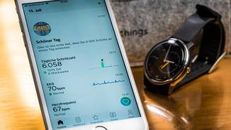 withings move ecg App Smartphone