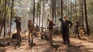 The Walkign Dead Daryl Carol Michonne