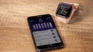 Detailliertere Informationen zum Schlaf sowie Vergleichswerte der vergangenen Wochen, findest Du in der Fitbit-App.