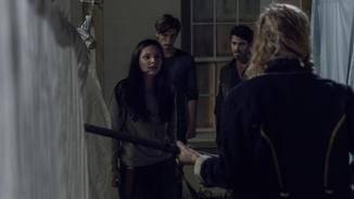 The Walking Dead-S10E04-Lydia-Gage-Alfred-Margo-Eliza Morse-AMC