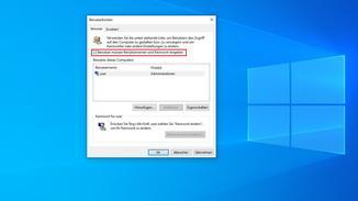 Windows 10 Benutzerkonten