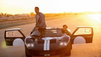 Le Mans 66 Christian Bale Noah Jupe