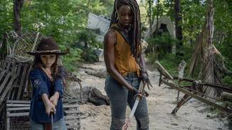 The Walking Dead-S10E08-Michonne-Judith-Gene Page-AMC