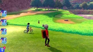 In der Naturzone sind andere Spieler sichtbar.