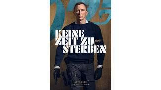 James Bond Keine Zeit zu sterben Daniel Craig Charakterposter