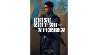 James Bond Keine Zeit zu sterben Lashana Lynch Charakterposter