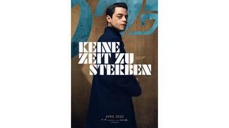 James Bond Keine Zeit zu sterben Rami Malek Charakterposter
