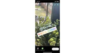 Instagram Story Standort hinzufügen