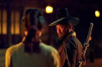 Muyeong ist der Leibwächter von Lee Chang – und ganz vielleicht ein Verräter. (Aber nein)