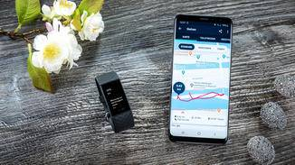 Fitbit Charge 4 GPS Karte