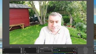 Greenscreen mit Snapcam kombiniert