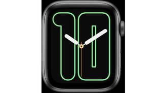 Apple Watch Zahlen Mono
