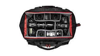Sie bietet schnellen Zugriff auf Kamera und Zubehör ...