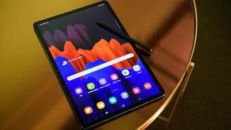 Auch das Galaxy Tab S7 gibt es erstmals mit unterschiedlichen Displaygößen.