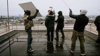 ... Wind und Wetter machen dem Smartphone nichts aus.