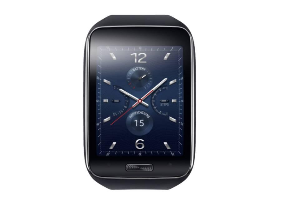 Samsung Gear S: Die Smartphone-Smartwatch im Test