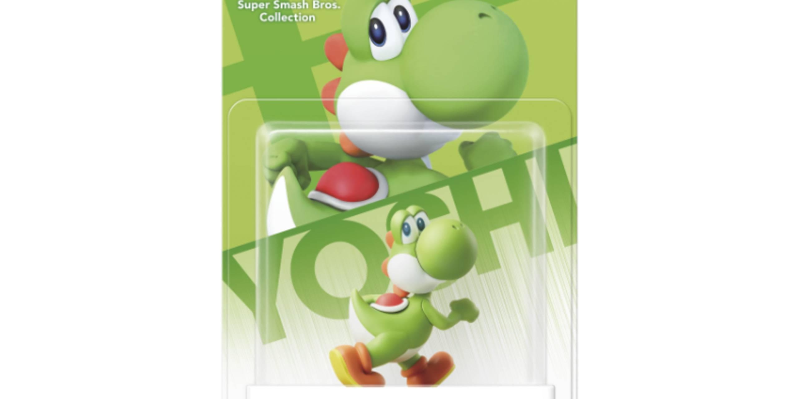 Yoshi amiibo Super Smash Bros. Collection