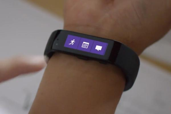 microsoft band ein fitness tracker mit zehn sensoren. Black Bedroom Furniture Sets. Home Design Ideas