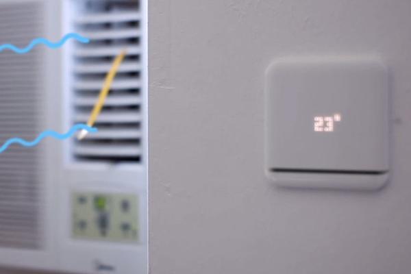 smart home neuer thermostat von tado f r die klimaanlage. Black Bedroom Furniture Sets. Home Design Ideas