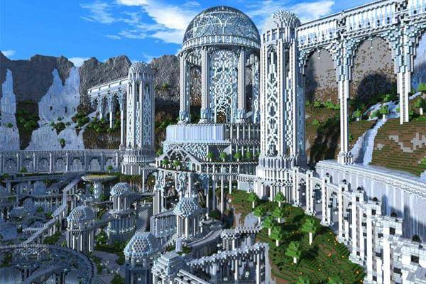 Die 7 gr ten und irrsten minecraft projekte der welt - Minecraft projekte ...