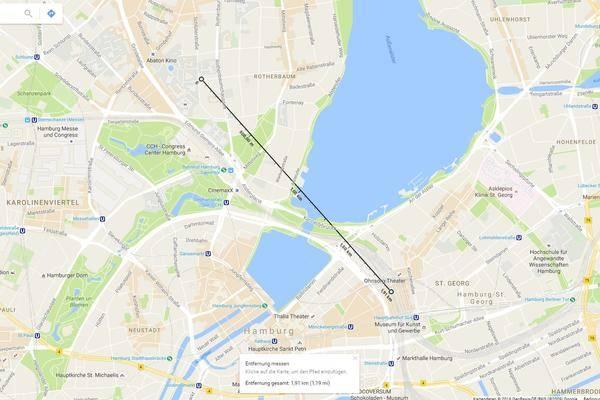 Maps Entfernungsmesser Iphone : So nutzt du den entfernungsrechner in google maps