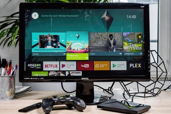 nvidia shield tv 2017 im test lang lebe der k nig. Black Bedroom Furniture Sets. Home Design Ideas