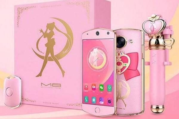 f r anime fans sailor moon smartphone kommt auf den markt. Black Bedroom Furniture Sets. Home Design Ideas