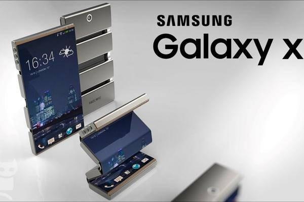 galaxy x samsung verspricht faltbares smartphone f r 2018. Black Bedroom Furniture Sets. Home Design Ideas