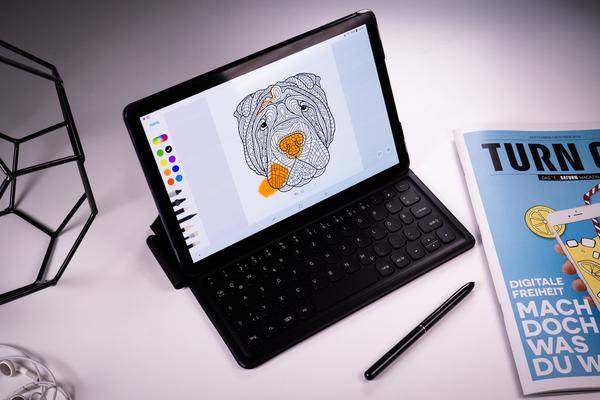 galaxy tab s4 lte im test das beste android tablet. Black Bedroom Furniture Sets. Home Design Ideas