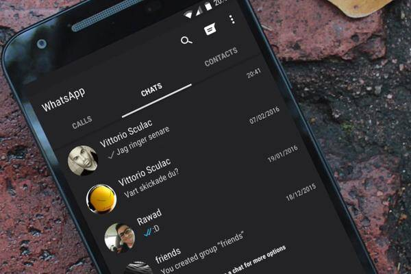 WhatsApp: Dark Mode für Desktop- und Webanwendung in Arbeit