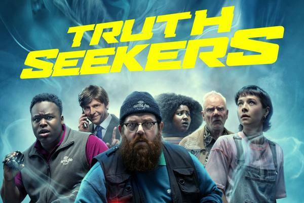 """""""Truth Seekers""""-Review: Simon Pegg & Nick Frost auf Geisterjagd"""