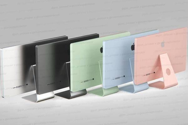 iMac 2021 in 5 Farben & kompakter Mac Pro mini: So sollen sie aussehen