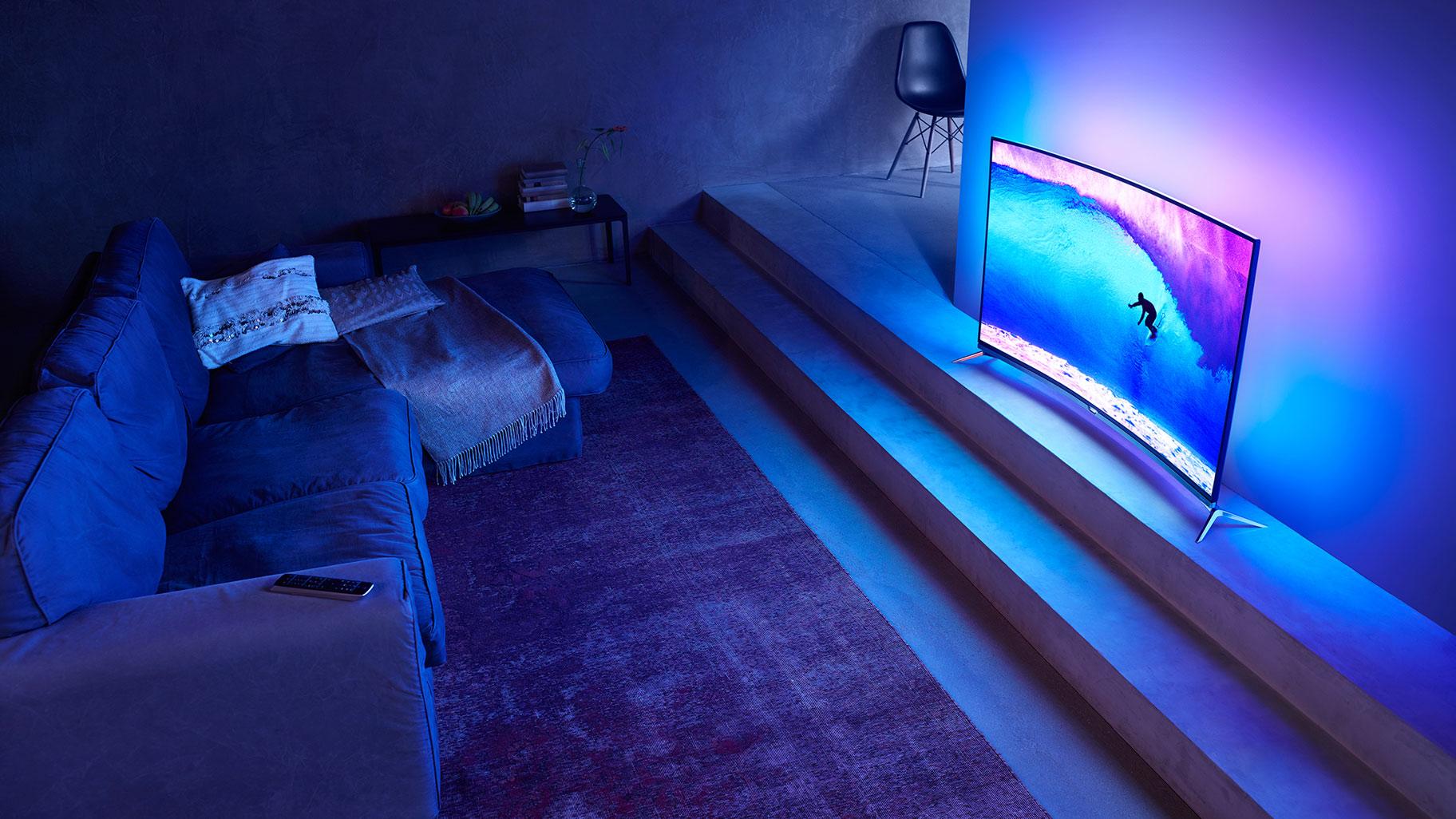 Curved Tv Das Bringen Die Gekrümmten Fernseher Wirklich
