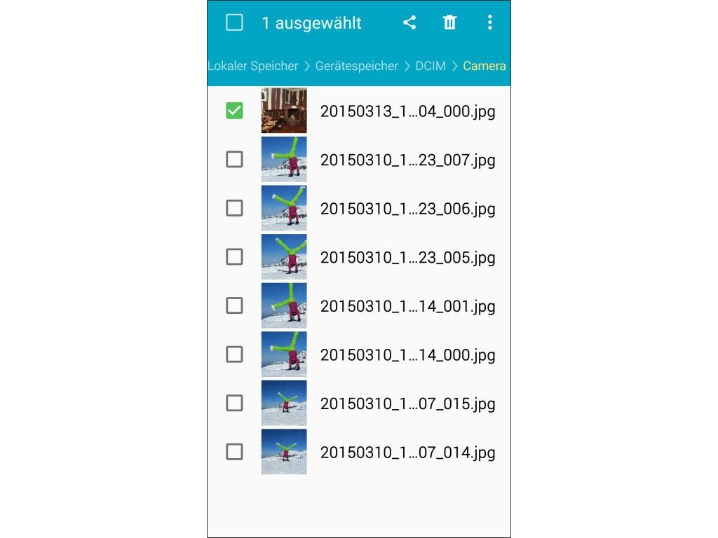 Unter Android Daten auf die SD-Karte verschieben: So geht\'s