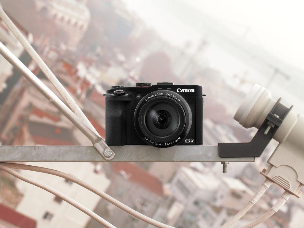 Canon Stellt Superzoom Kompaktkamera Powershot G3 X Vor Wi Fi And Nfc