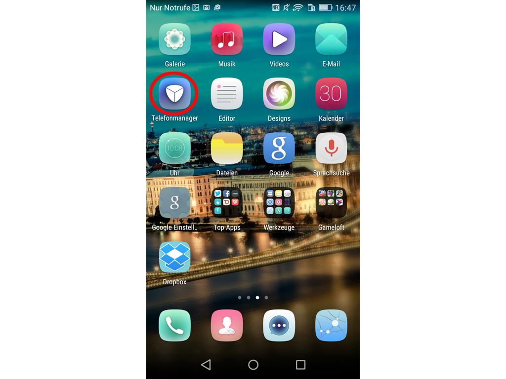 Huawei startbildschirm hintergrund