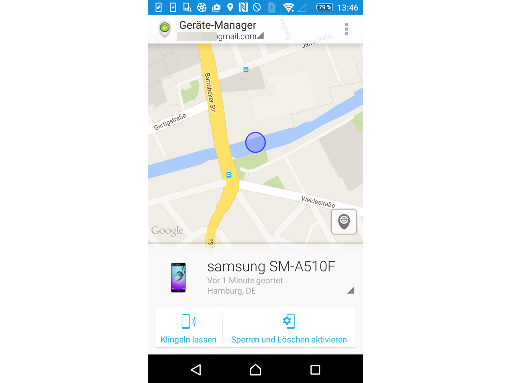 android handy ortung ohne app