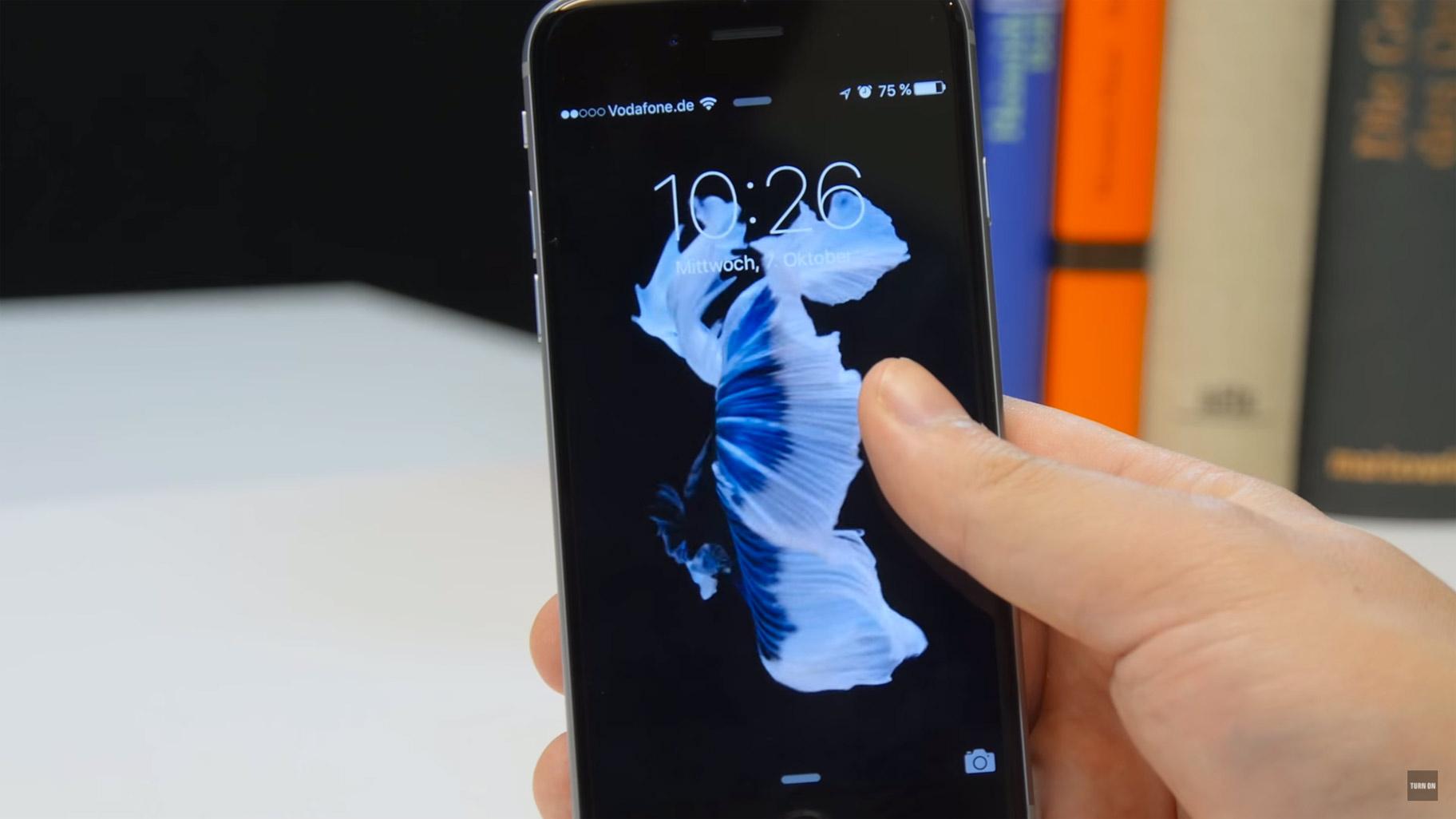 Iphone 7 live hintergrund funktioniert nicht