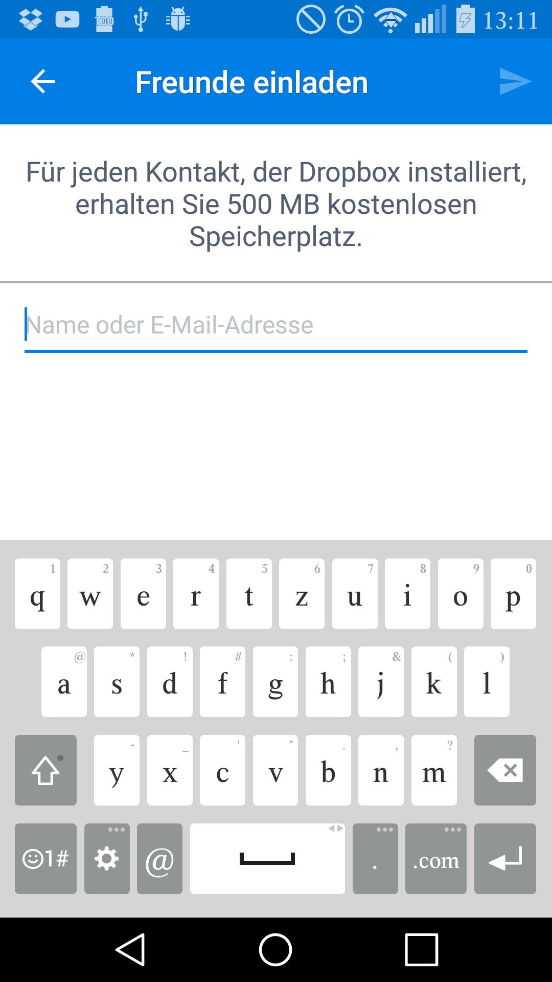 7 tipps für die dropbox-app für android und ios, Einladung