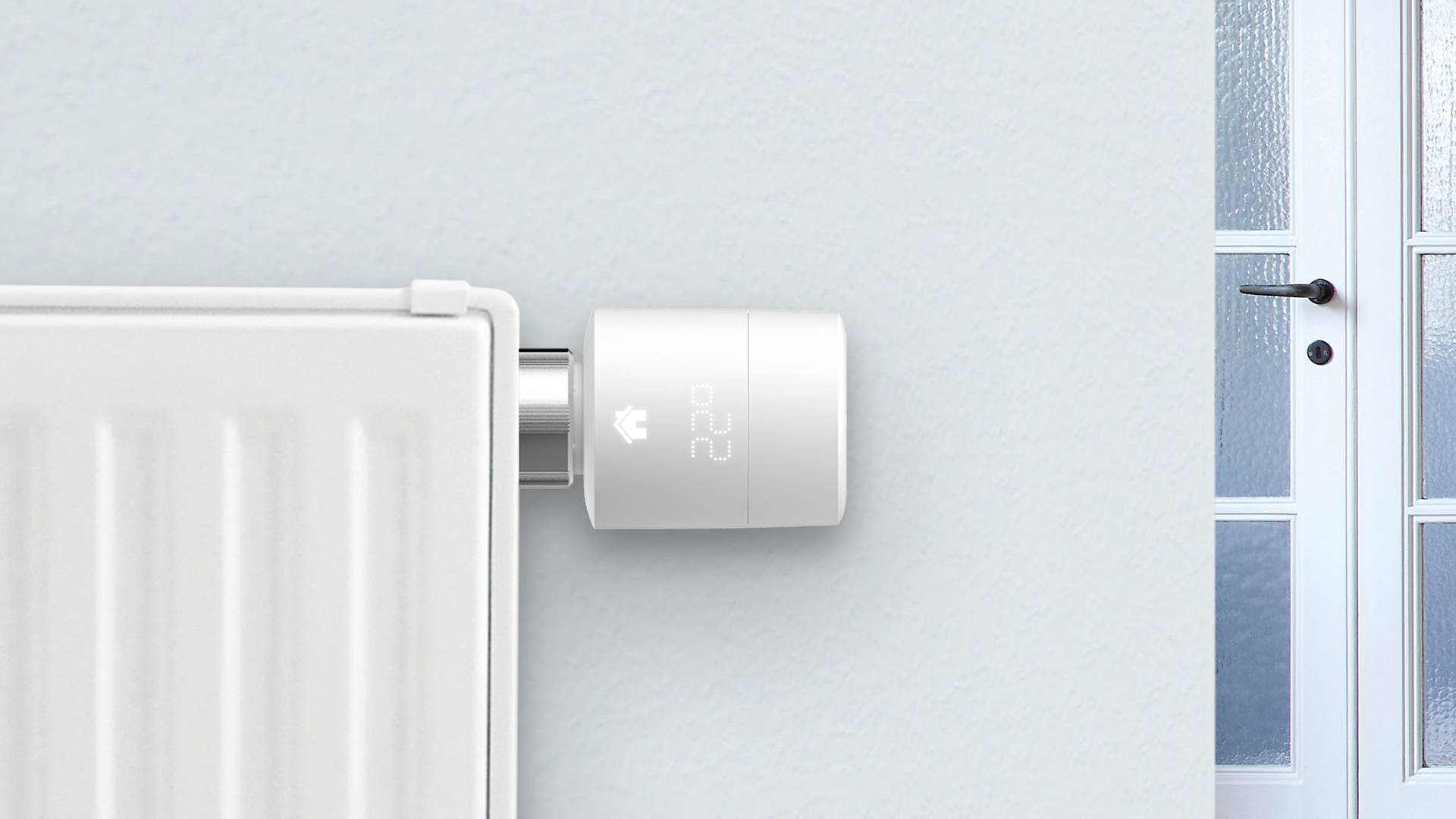 Wie kann man einen neuen Thermostat anhaken?