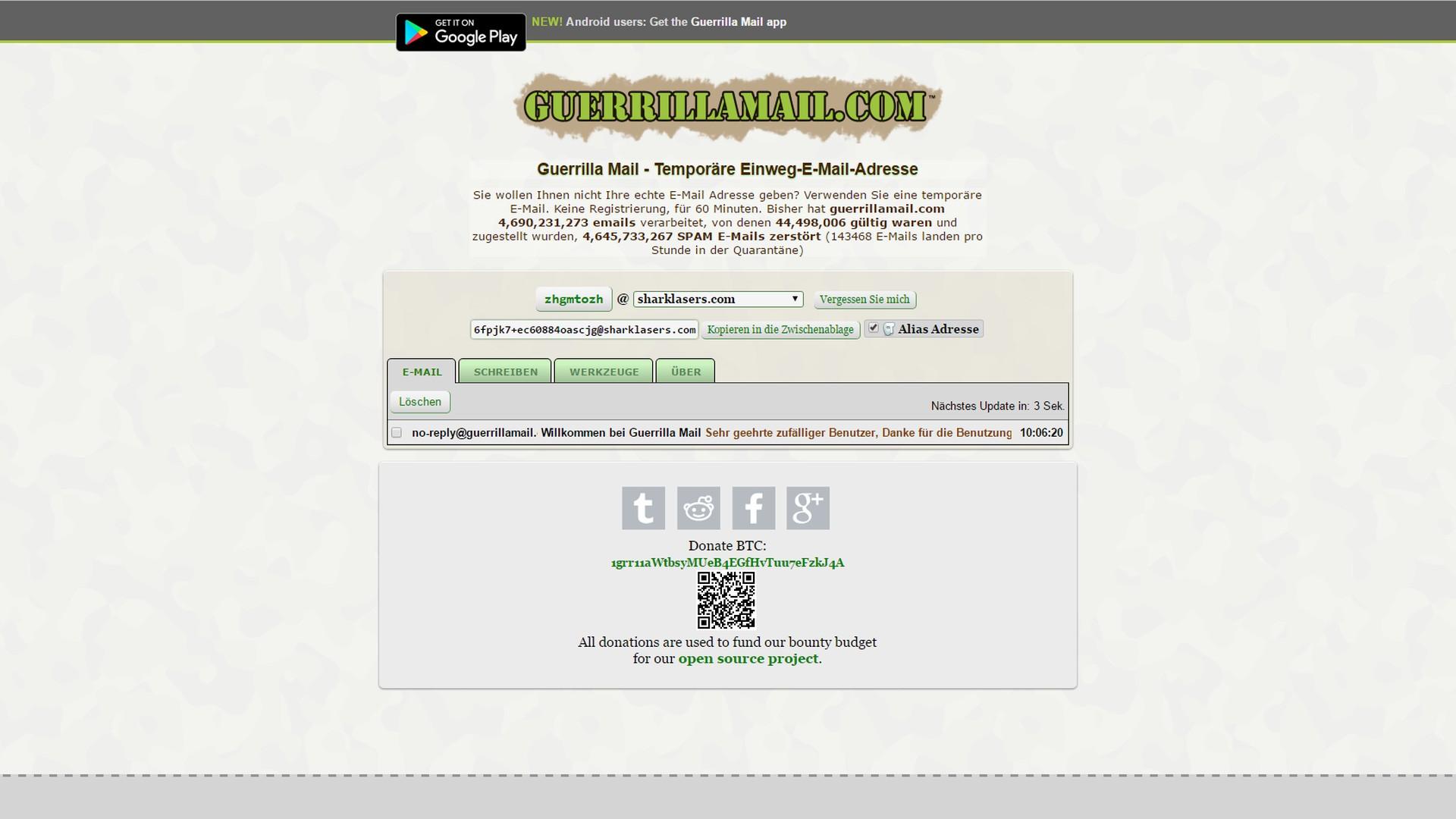 ffc9c651bf3e20 Wegwerf-E-Mail-Adresse gefällig? Die 6 besten Anbieter