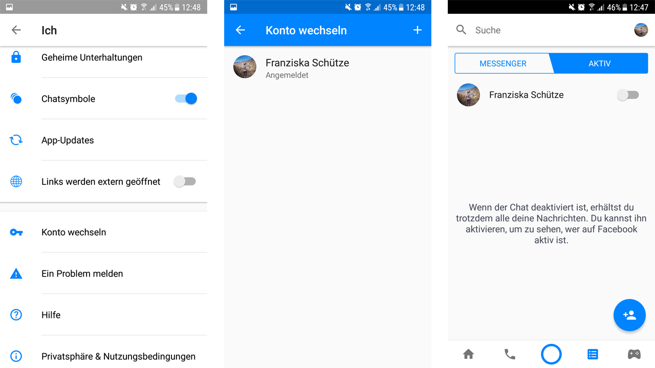 30daa20504f659 Facebook offline anzeigen messenger. Here s how to appear offline on ...
