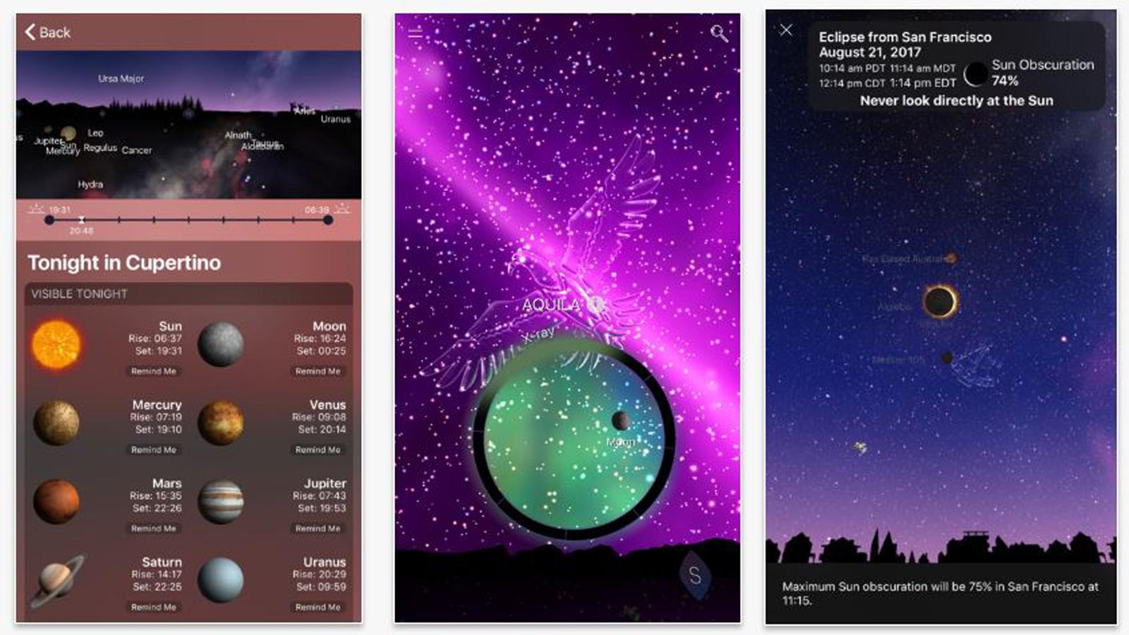 Sternbilder apps möglichkeiten den nachthimmel zu ergründen