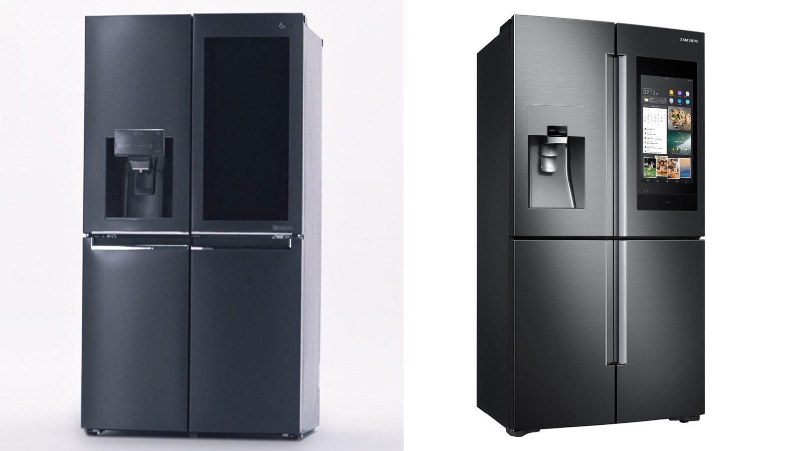 CES 2018: Samsung & LG stellen ihre smarten Kühlschränke vor