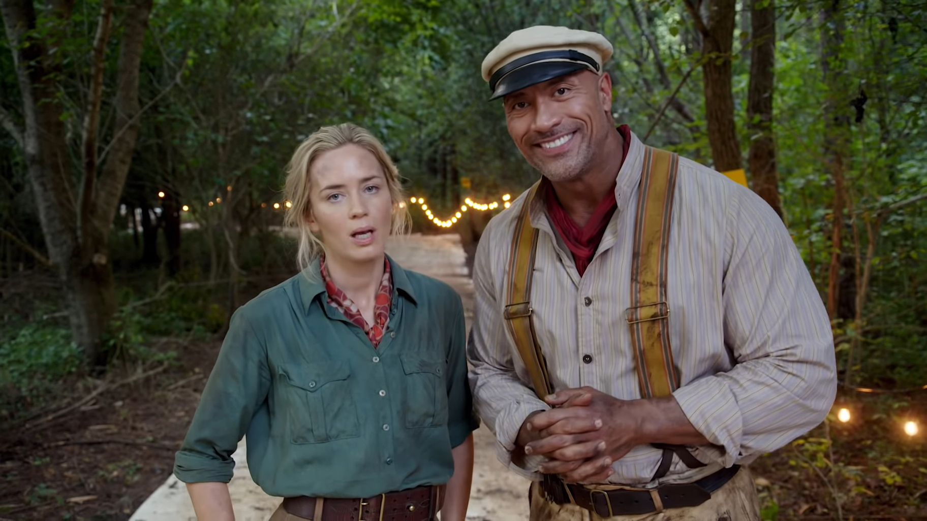"""Jungle Cruise""-Trailer: Dwayne Johnson & Emily Blunt auf wilder Fahrt"