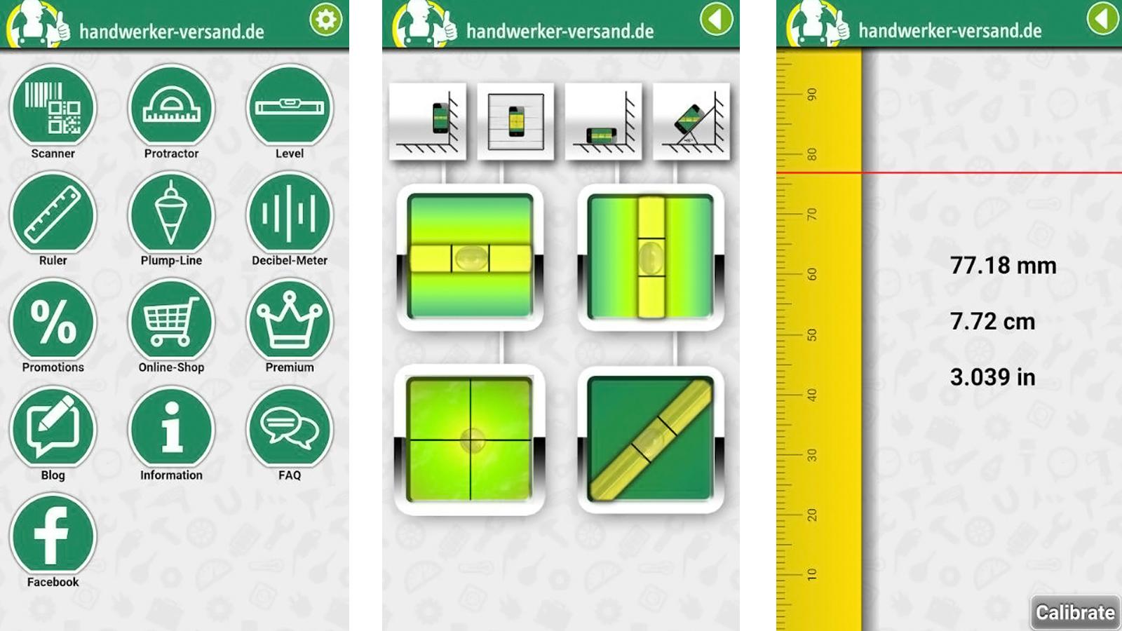 heimwerker-apps: 7 handwerker-apps, die winkelmesser, wasserwaage