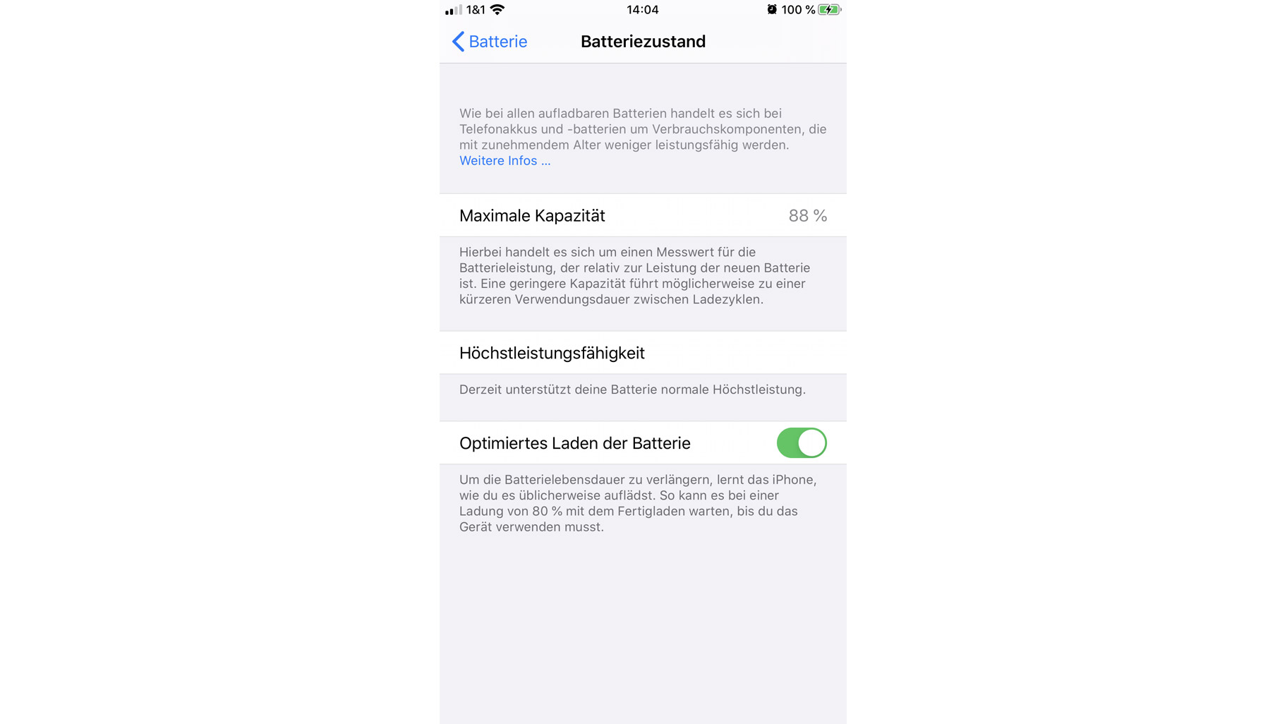 Optimiertes Laden beim iPhone: Das steckt hinter dem iOS-13-Feature