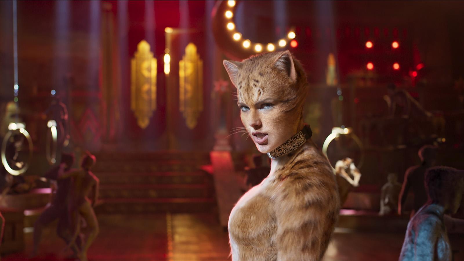 """Neuer """"Cats""""-Trailer: Taylor Swift & Idris Elba schnurren um die Wette"""